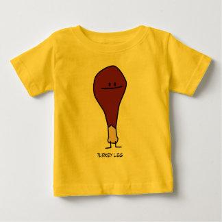 Camiseta del niño del bebé de la pierna de Turquía