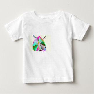 Camiseta del niño del bebé del corazón del arco playeras