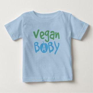 Camiseta del niño del bebé del vegano