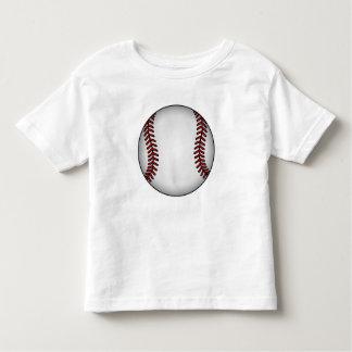 Camiseta del niño del béisbol