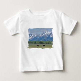 Camiseta del niño del búfalo de Teton Playera