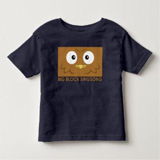 Camiseta del niño del búho de BBSS