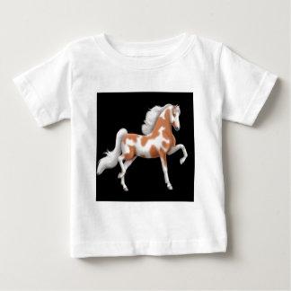 Camiseta del niño del caballo de la pintura de playera para bebé