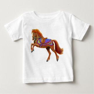 Camiseta del niño del caballo del circo playeras