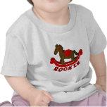 Camiseta del niño del caballo mecedora