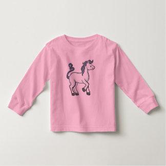 Camiseta del niño del caballo