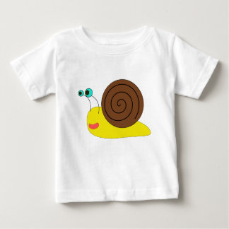 Camiseta del niño del caracol camisas