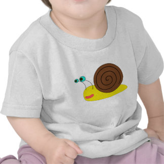 Camiseta del niño del caracol