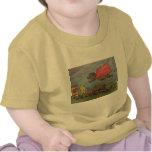 Camiseta del niño del cerdo del poder
