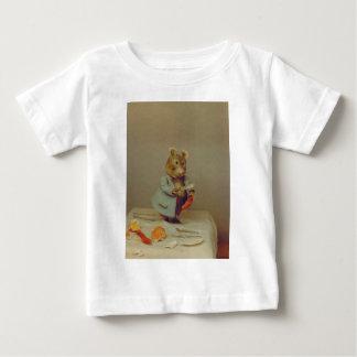 Camiseta del niño del cocinero del ratón