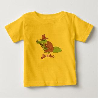 Camiseta del niño del cocodrilo de Jambo Remera