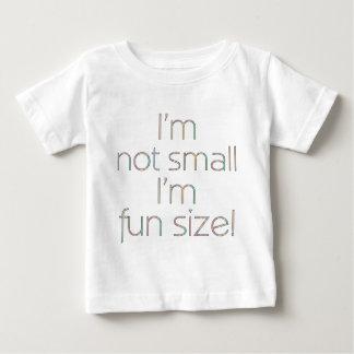 Camiseta del niño del color del tamaño de la playera