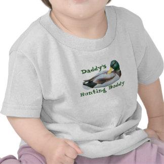 Camiseta del niño del compinche de la caza del