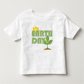 Camiseta del niño del Día de la Tierra
