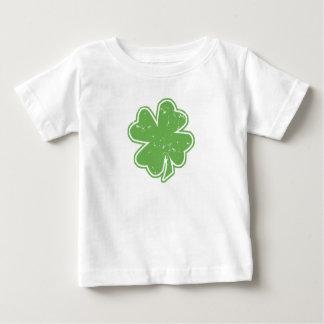 Camiseta del niño del día de St Patrick del trébol Playeras