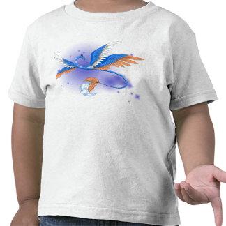 Camiseta del niño del dragón de la nube