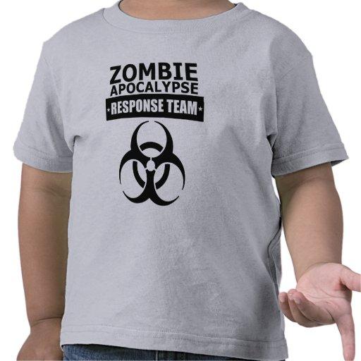 Camiseta del niño del equipo de la respuesta de la