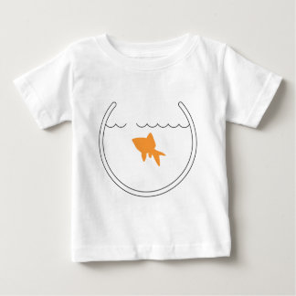 Camiseta del niño del escape del Goldfish
