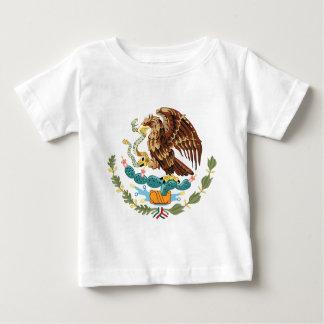 Camiseta del niño del escudo de armas de México Playera