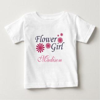Camiseta del niño del florista playeras