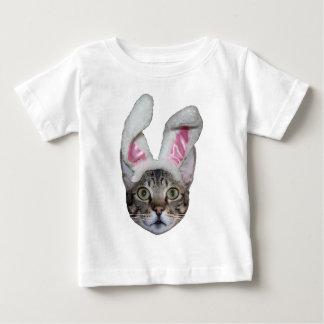 Camiseta del niño del gato de la sabana del camisas