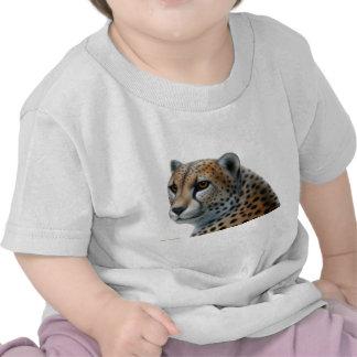 Camiseta del niño del guepardo