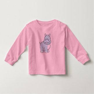 Camiseta del niño del hipopótamo remeras