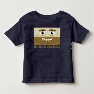 Camiseta del niño del hombre de las cavernas de playeras