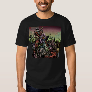 Camiseta del niño del horror polera