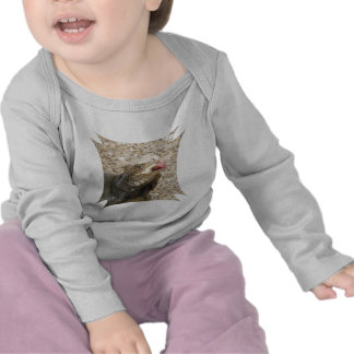 Camiseta del niño del lagarto