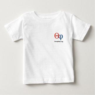 camiseta del niño del logotipo de theophiles.org camisas
