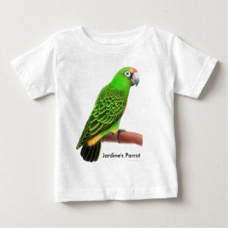 Camiseta del niño del loro de Jardines Playera