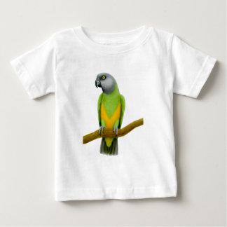 Camiseta del niño del loro de Senegal Playera