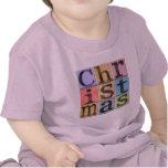 Camiseta del niño del navidad