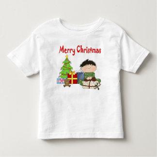 Camiseta del niño del niño pequeño del navidad playera de niño