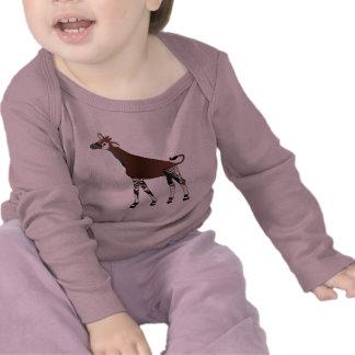 Camiseta del niño del Okapi