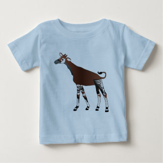 Camiseta del niño del Okapi Poleras