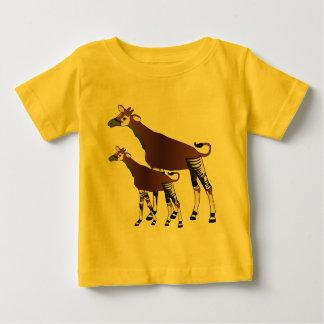 Camiseta del niño del Okapi Remera
