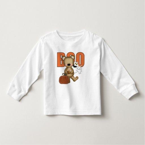 Camiseta del niño del oso del abucheo de Halloween Playera