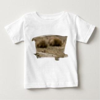 Camiseta del niño del perro de las praderas 1531 polera
