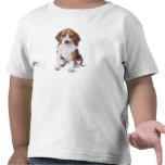 Camiseta del niño del perro de perrito del beagle