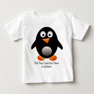 Camiseta del niño del pingüino