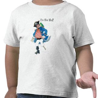 Camiseta del niño del pirata