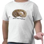 Camiseta del niño del pitón de la bola del albino