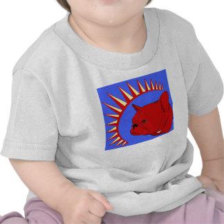 Camiseta del niño del pliegue del presidente