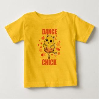 Camiseta del niño del polluelo de la danza camisas