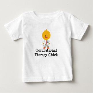 Camiseta del niño del polluelo de la terapia remeras
