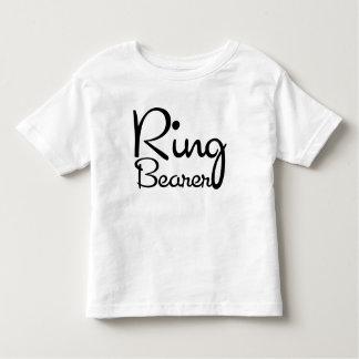 Camiseta del niño del portador de anillo del amor camisas