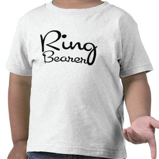Camiseta del niño del portador de anillo del amor
