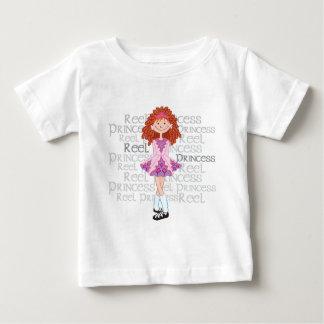 Camiseta del niño del Redhead del carrete Playera